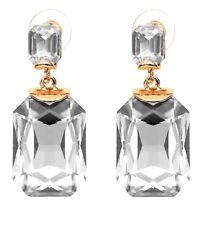 Crunchy Fashion Jewellery Golden Party Wear crystal Earrings for Girls-CFE0891