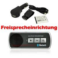 Auto KFZ Bluetooth 3.0 Freisprecheinrichtung Freisprechanlage Verbinden 2 Handys