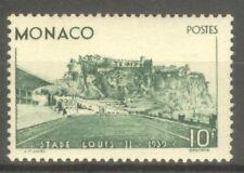 "MONACO STAMP TIMBRE N° 184 "" STADE LOUIS II 10F VERT 1939 "" NEUF xx TTB"