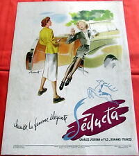 Collectibles Publicite Advertising 024 1963 Seducta Chaussures Other Breweriana