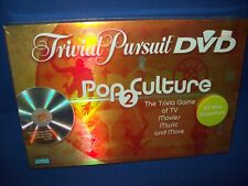 Trivial Pursuit Dvd Pop Culture 2 Board Game New Sealed 2005