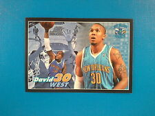 2009-10 Panini NBA Basketball n.349 David West New Orleans Hornets