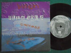 "FLEMGODS - BISON CARCASS EARSTRIKE EP 7"" VINYL RARE NOISE HARDCORE"