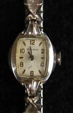 Bulova Gold Plated Case Women's Adult Wristwatches