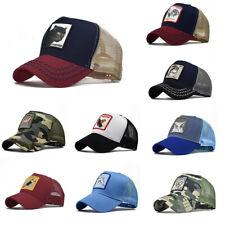 Mens Mesh Baseball Caps Animal embroidery Hip-Hop Snapback Trucker Sports Hats