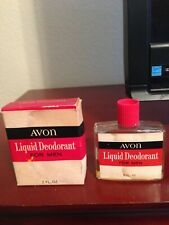 Avon Liquid Deodorant for Men 2 oz Bottle - Boxed - 1966