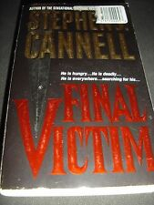Final Victim by Stephen J. Cannell (1997, Paperback)