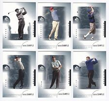2001 SP Authentic #24 Adam Scott PREVIEW SAMPLE CARD