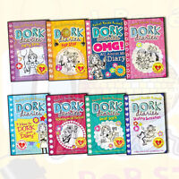 Dork Diaries Collection Rachel Renee Russell 8 Books Set Pack RRP £23.96 NEW PB