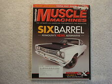 Muscle Machines 2008 May 1969 1/2 Road Runner 1966 Chevelle SS 396 Tempest SD421