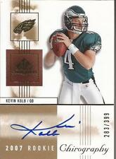 KEVIN KOLB 2007 SP Chirography Rookie Autograph #/399