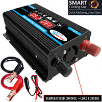 4000W LCD 2 USB DC 12V To AC 220V Car Solar Power Inverters Converter Charger