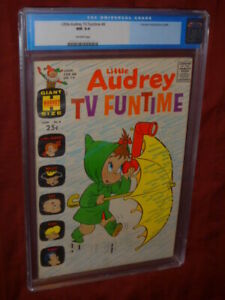 Little Audrey TV Funtime #8 CGC 9.4
