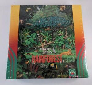 Discovery Toys 300 Piece Treasures Of The Rainforest Jigsaw Puzzle Made in USA
