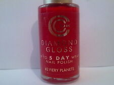 Constance Carroll Diamond Gloss Nail Polish - 42 Fiery Planets Red