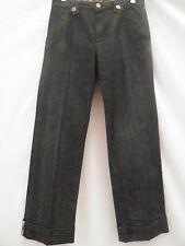 BURBERRY Ragazze Jeans Denim Blu Scuro Pants Pantaloni Età 12 152 CM NUOVO £ 95