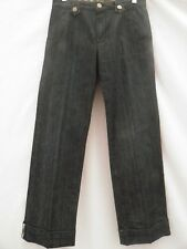 BURBERRY Girls Dark Blue Denim Jeans Pants Trousers Age 12 152 CM New £95