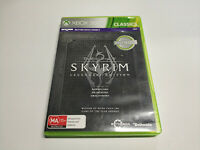 Mint Disc Xbox 360 Skyrim Legendary Edition Inc. Manual Free Postage