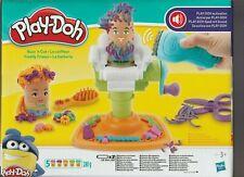 play-doh le coiffeur 5 pots de pate a modeler + accessoires neuf jamais ouvert