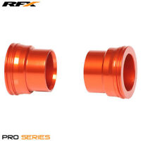 For KTM EXC 250 2T 2005 RFX Pro Orange Front Wheel Spacers