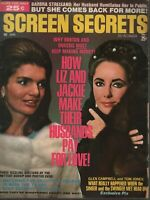 Screen Secrets January 1970 Jackie Kennedy Elizabeth Taylor 072419AME3