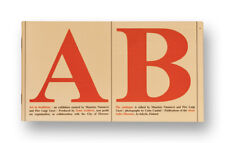 "MAURIZIO NANNUCCI.  ""A. B. Art in Bookform.""  (1987)"