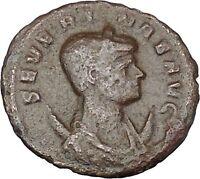 Severina wife of Aurelian 275AD Rare Ancient Roman Coin Concordia Harmony i47885