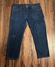 Mott & Bow Jeans Size 42 X 32 Straight Leg Dark Rinse