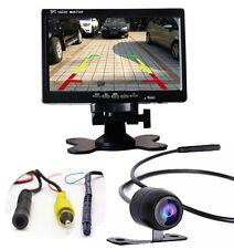 "Car 7"" TFT LCD Monitor + Parking Side Rear Front View Backup 170° CCD Camera Kit"