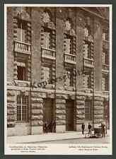 Architektur Alfred Messel Berlin AEG-Haus Friedrich-Carl-Ufer Fahrrad Bote 1908!
