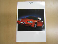 Orig. 1989 Renault Alpine GTA V6 & Turbo sales brochure MINT CONDITION 2905907
