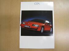 1989 Renault Alpine GTA V6 & Turbo sales brochure MINT CONDITION 2905907