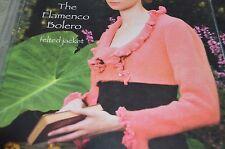 "Noni Knitting Pattern 1201 Flamenco Bolero felted jacket 30-50"""