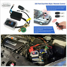 Car Battery Disconnect Switch System Wireless Remote Control Master Kill Power