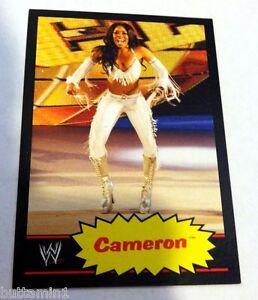 CAMERON 2012 Topps Heritage BLACK Border Parallel #9 Diva RARE SP 100 Made WWE