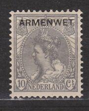 D7 Dienstzegel nr 7 armenwet MLH NVPH Netherlands Nederland Pays Bas COUR