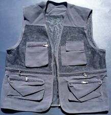 NWOT! Gray Sporting Utility Fishing Hunting Vest size XL