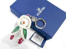 Swarovski Stacy White Emerald Key Ring Pendant Crystal Authentic - 1162682