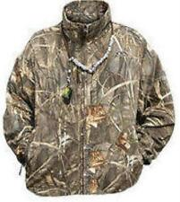 Drake Waterfowl 215 MAX4 Camo Fleece Coat Medium 17554