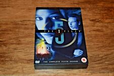 The X-Files The Complete Fifth 5 Season Series Five DVD 5-Disc Set FREEPOST