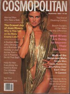 Cosmopolitan Magazine September 1983 Christie Brinkley Demarchelier 080819AME2