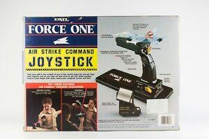 VINTAGR ERTL Force One Air Strike Command Joystick JET FIGHTER F-18 Hornet 1990