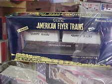 AMERICAN FLYER,,,,,,48576......AFL GILBERT DAIRY FLAT CAR WITH MILK CONTAINERS