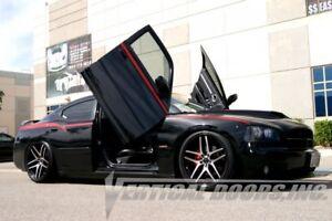 Dodge Charger 06-10 Lambo Style Vertical Doors VDI Bolt On Hinge Kit