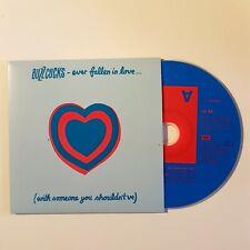 BUZZCOCKS : EVER FALLEN IN LOVE / UP36455 ♦ CD Single Promo ♦