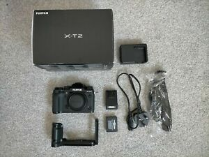 Fujifilm X series X-T2 24.3MP Digital SLR Camera - Black (Body Only)