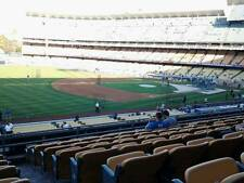 2 Tickets Los Angeles Dodgers v. Atlanta Braves 7/22 Saturday Loge 153 Movie