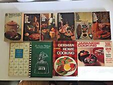 International Ethnic Cookbooks Recipes Italian German French Jewish Lot of 10