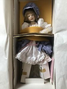 Franklin Mint Heirloom Little Bo Peep Porcelain Doll by Helen Kish 1987 16 (NIB)
