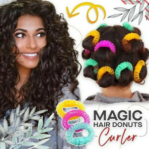 Magic Hair Curler Spiral Curls Roller Donuts Curl Hair Styling Tool 2 Sizes HOT